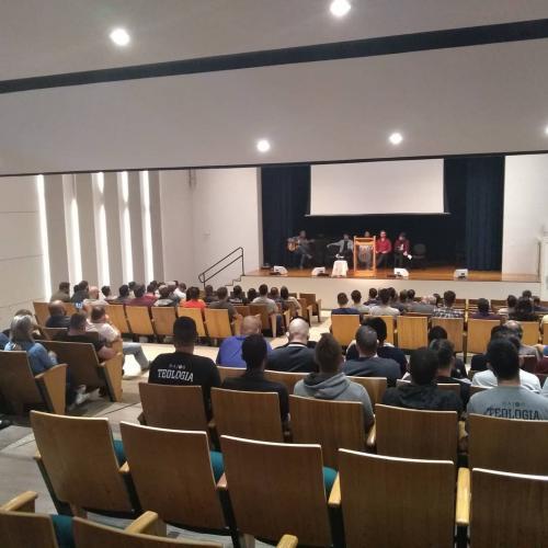 Auditório do SPS onde servimos nosso Deus através do culto e outras atividades.